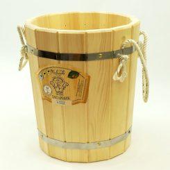 Запарник без крышки 10 литров, кедр