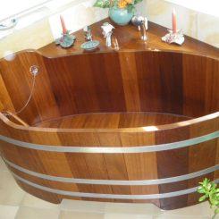 Ванны дубовые
