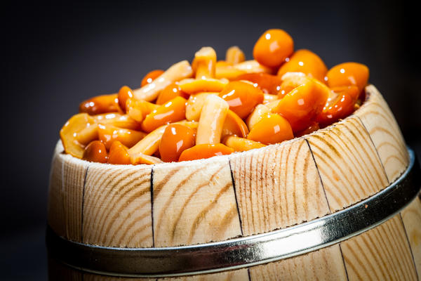 Засолка грибов холодным способом Для холодной засолки берут рыжики, грузди, волнушки и сыроежки. Грузди, волнушки и сыроежки надо положить в холодную воду на 5–6 часов, а рыжики только промыть. Подготовленные грибы уложить рядами в кадку и пересыпать солью. Сверху на грибы положить деревянный круг или гнет. Когда грибы осядут, добавить к ним новые, чтобы наполнить […]